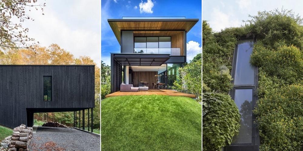 Частные дома, претендующие на звание лучшего здания года