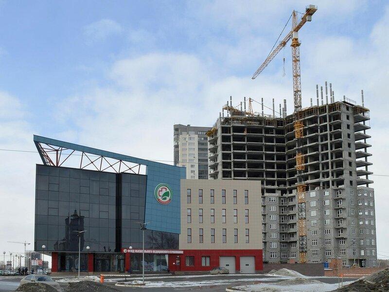 Строится дом по ул. Труда, 154