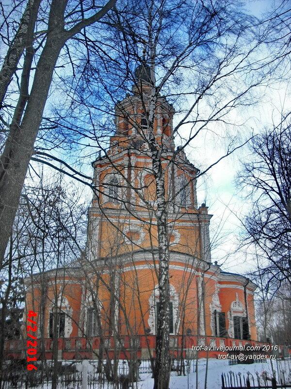 Церковь Спаса Нерукотворного Образа в Уборах, Одинцовский р-н, Московская обл.