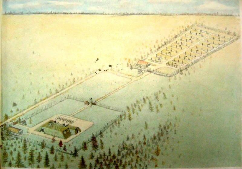Пусковая площадка ЗРК С-25