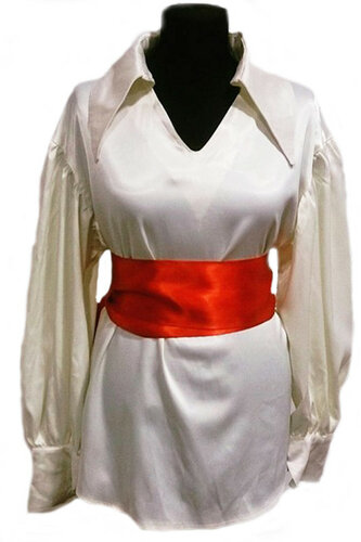 Женский карнавальный костюм Пиратская рубаха