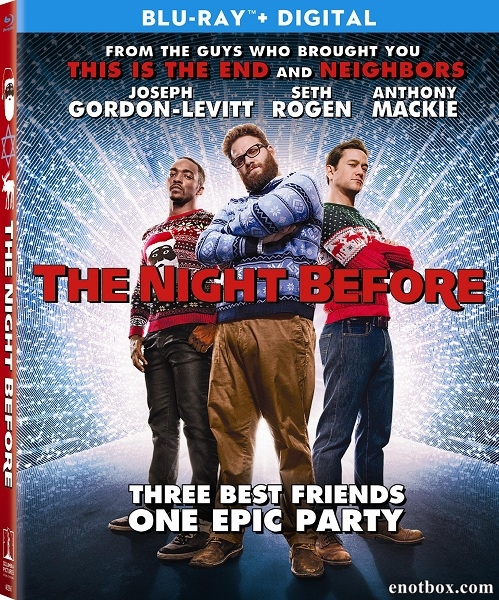 Рождество / The Night Before (2015/BD-Remux/BDRip/HDRip)