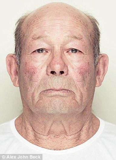 Портреты: Если бы наше лицо было симметричным