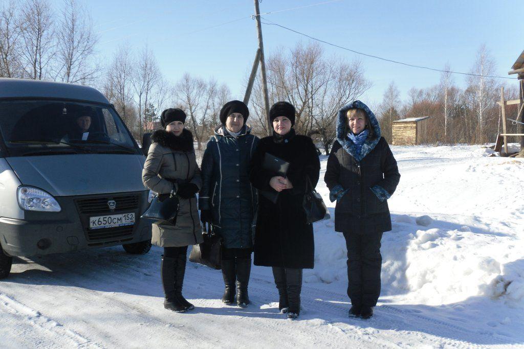 Плановый выезд в д. Мельсеватовка