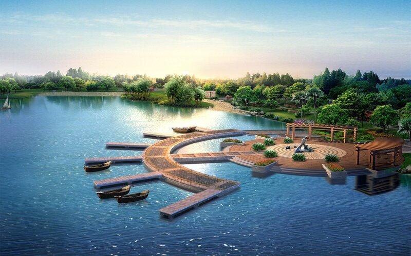 Красивые китайские пейзажи. Фотографии природы Китая, похожей на картины 0 1c4d5a 38bd5cc0 XL