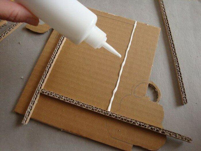 Как сделать фоторамку из картона в домашних условиях