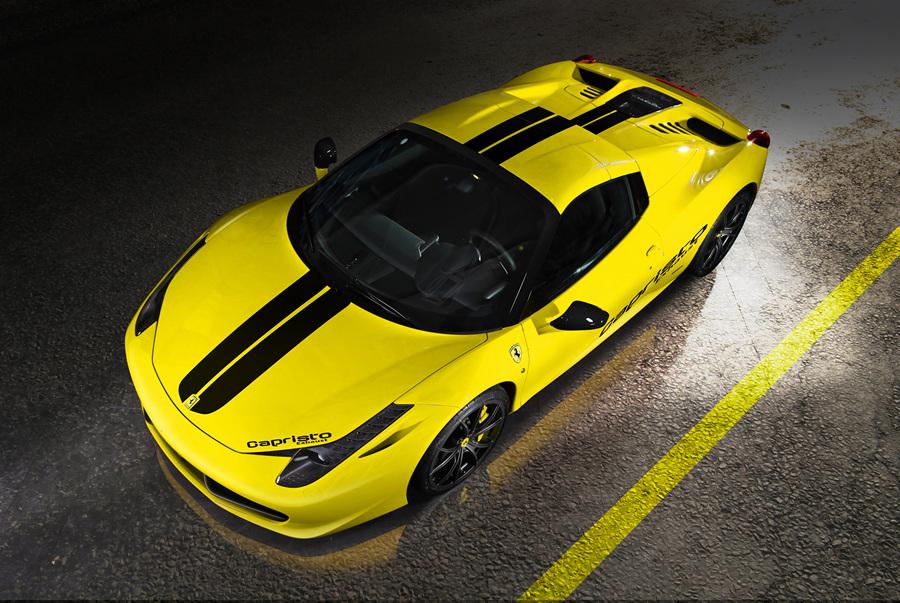 Красуясь двигателем: Ferrari от Capristo