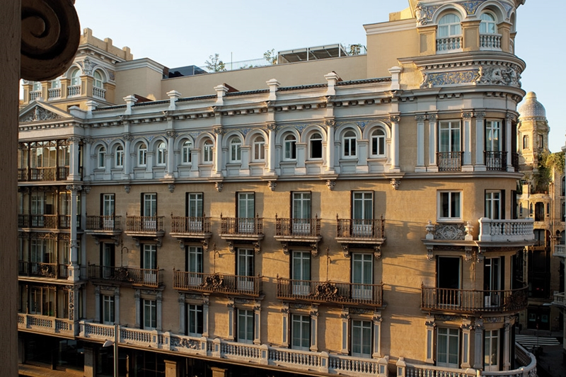 Улицы и архитектура Мадрида фото 5