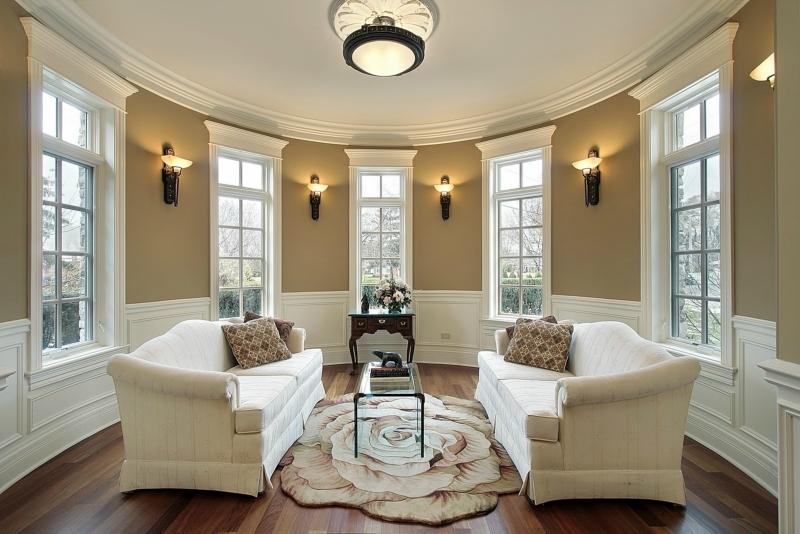 Дизайн интерьера гостиной в светлых оттенках фото 24