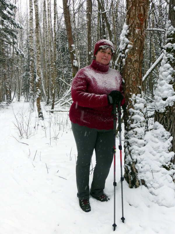 В снегопад