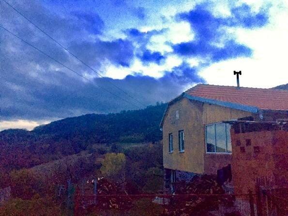 Сербия, село