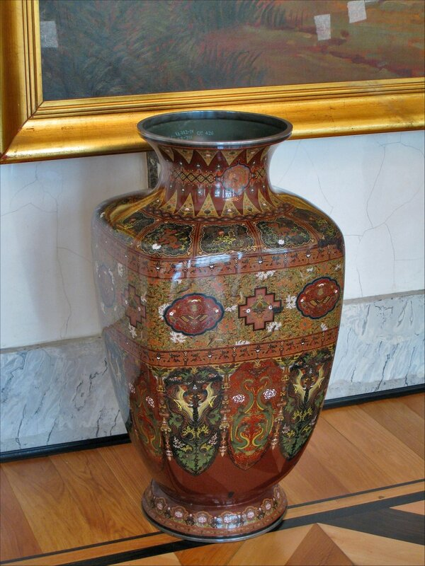 Японская ваза, Царское Село, Александровский дворец