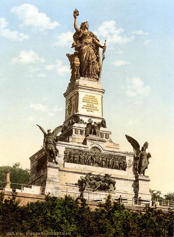памятник Нидервальд, конец XIX века
