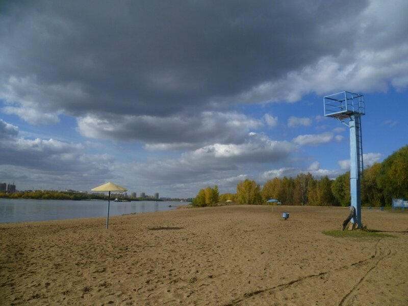 Пляж в Омске (Beach in Omsk)