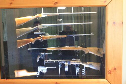 Коллекция подарков оружия