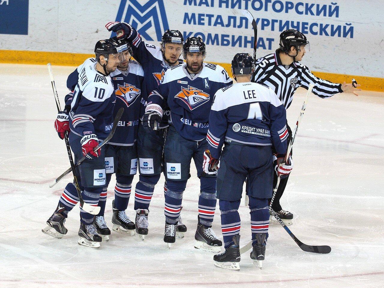 109Плей-офф 2016 Восток 1/2 Металлург - Сибирь 10.03.2016
