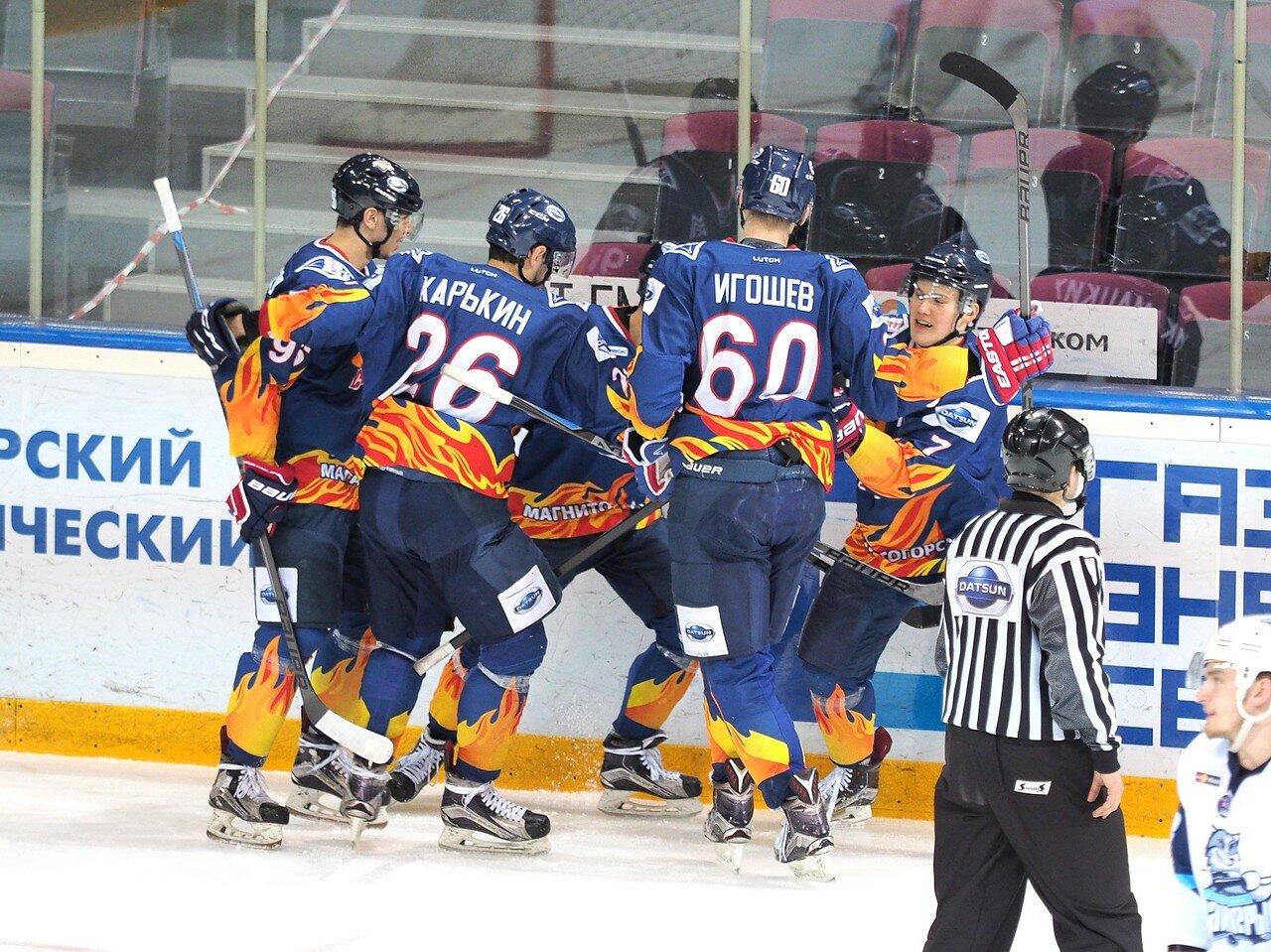 60Плей-офф МХЛ 2016 1/4 Стальные Лисы - Сибирские Снайперы 21.03.2016