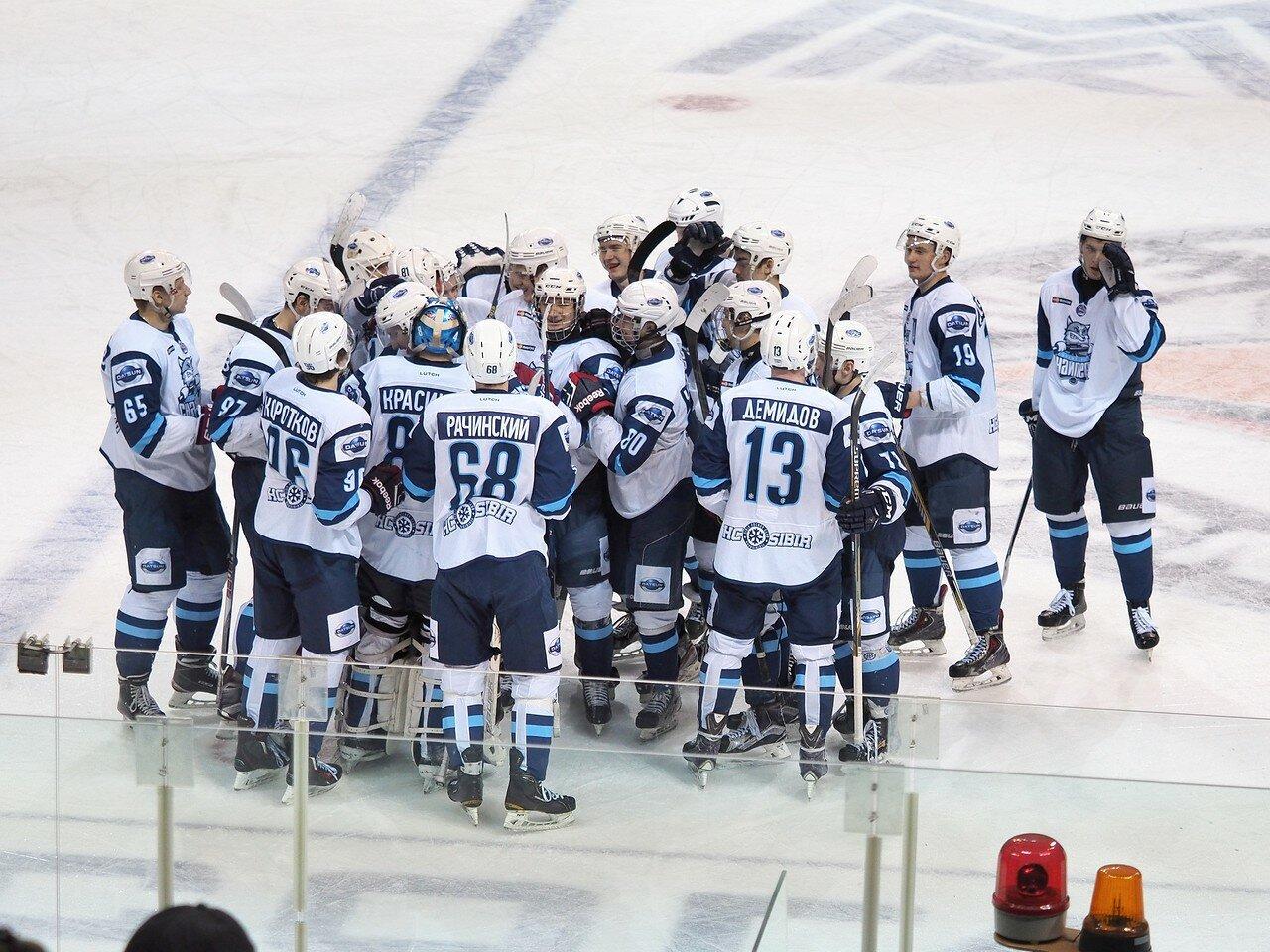 74Плей-офф МХЛ 2016 1/4 Стальные Лисы - Сибирские Снайперы 21.03.2016