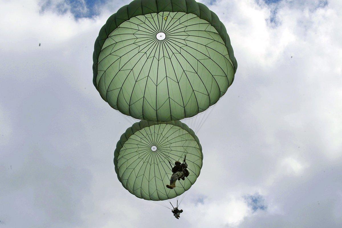 Впечатляющие снимки американских десантников