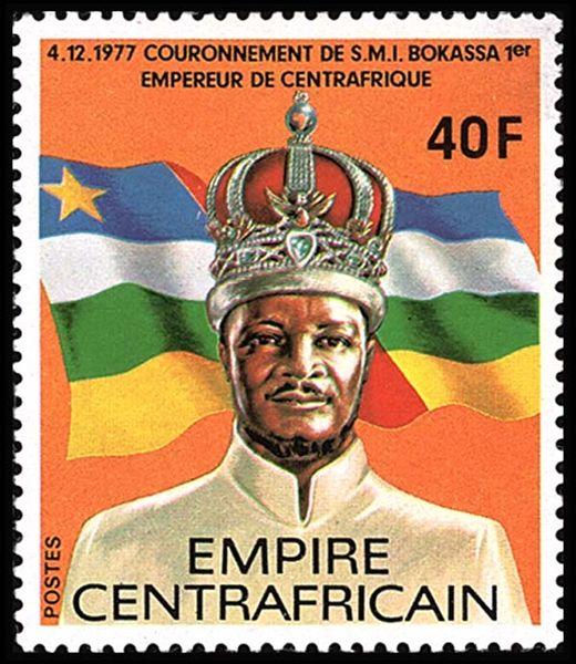 Жан-Бедель Бокасса - император и людоед