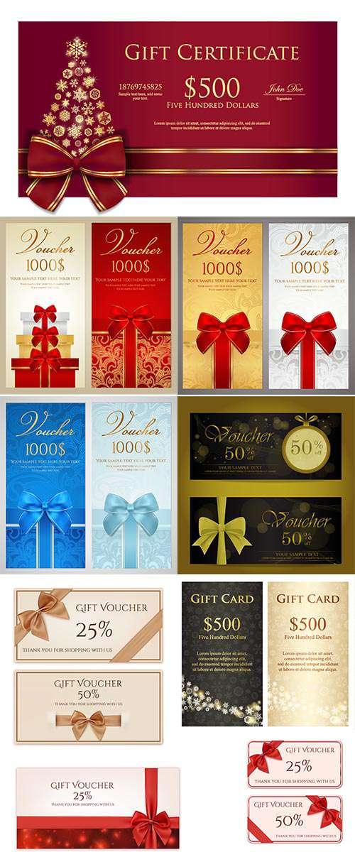Новый год и Рождество - Подарочные карты