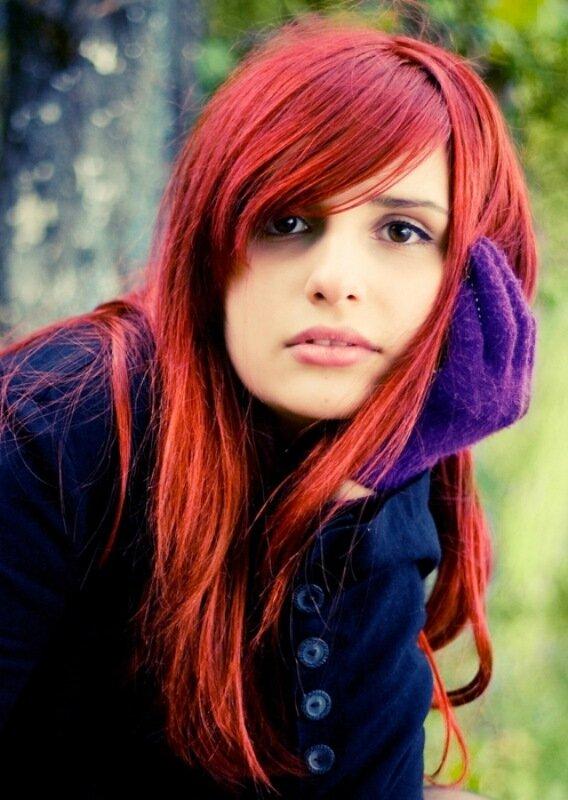 Златовласки: красивые фотографии красивых рыжих девушек