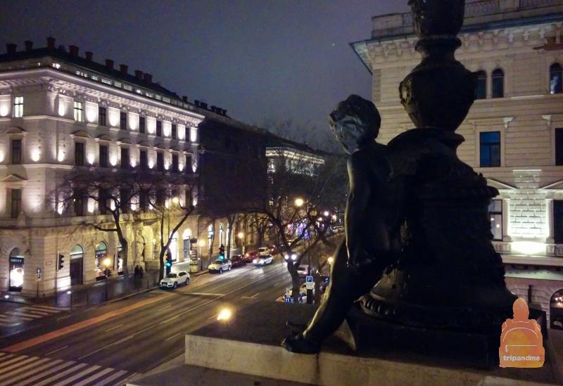 Балкон в опере Будапешта