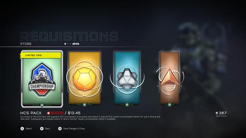 Halo 5 - HCS набор