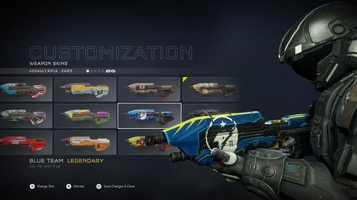 14 новых скинов для оружия в Halo 5