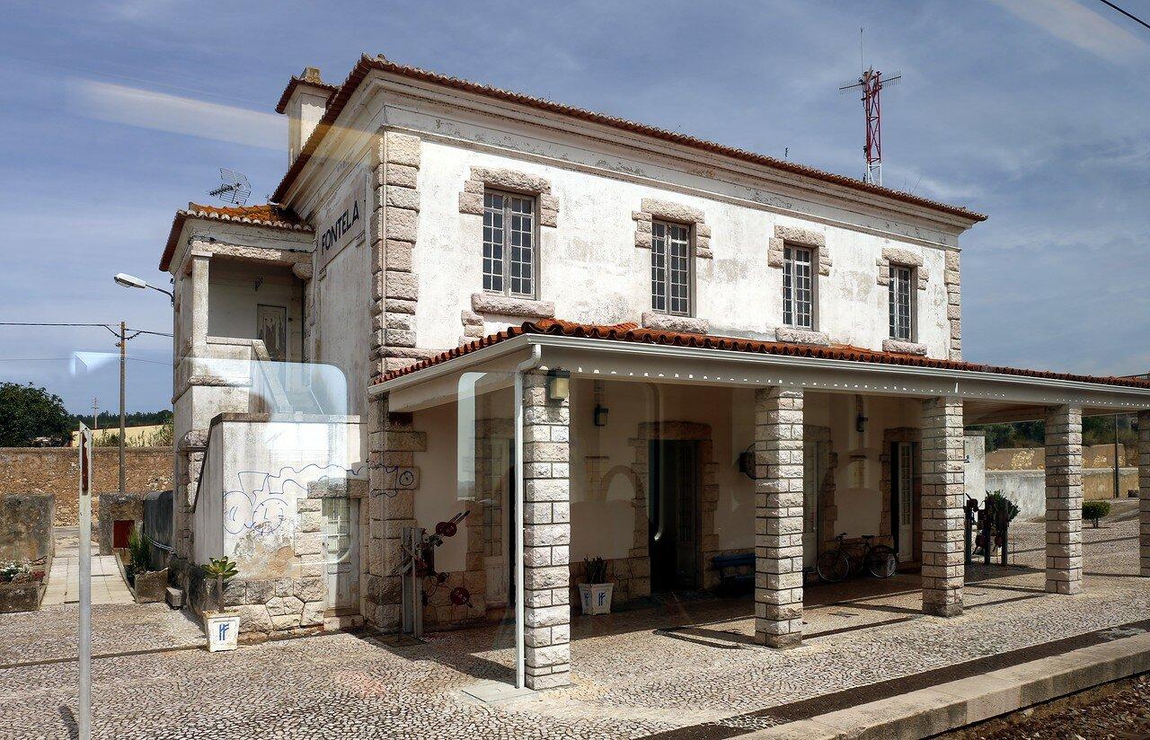 Португальские железные дороги. Станция