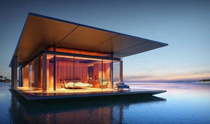 Разработал дом Дмитрий Мальцев для французского дизайнера, который специализируется на плавающих кон