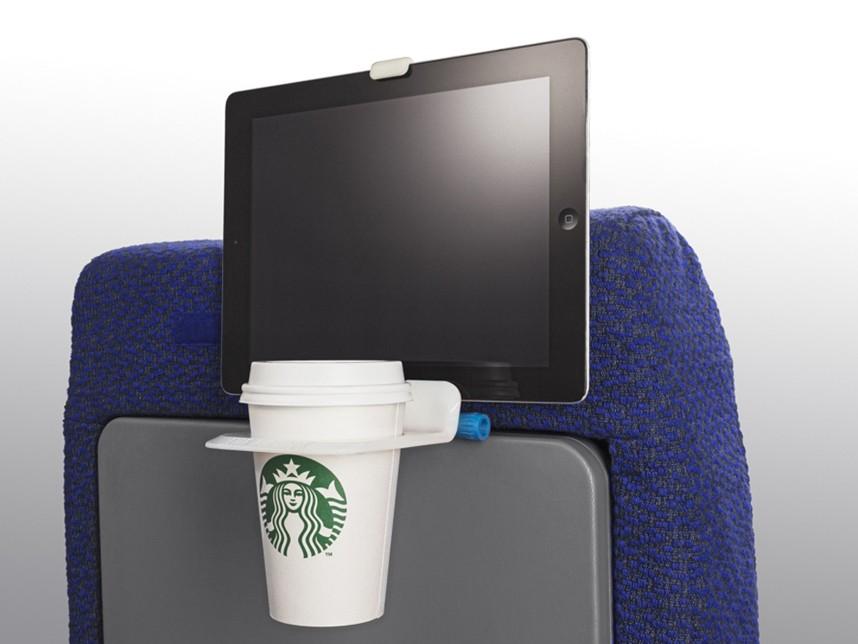 1. Airhook — приспособление, предназначенное для того, чтобы держать напиток и телефон (или планшет)