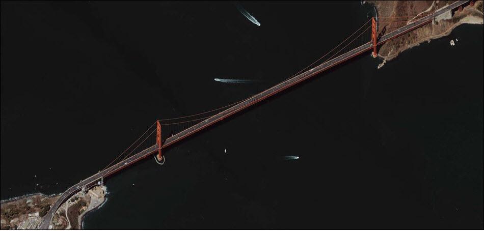 """21. Мост """"Золотые ворота"""" в Сан-Франциско, США."""