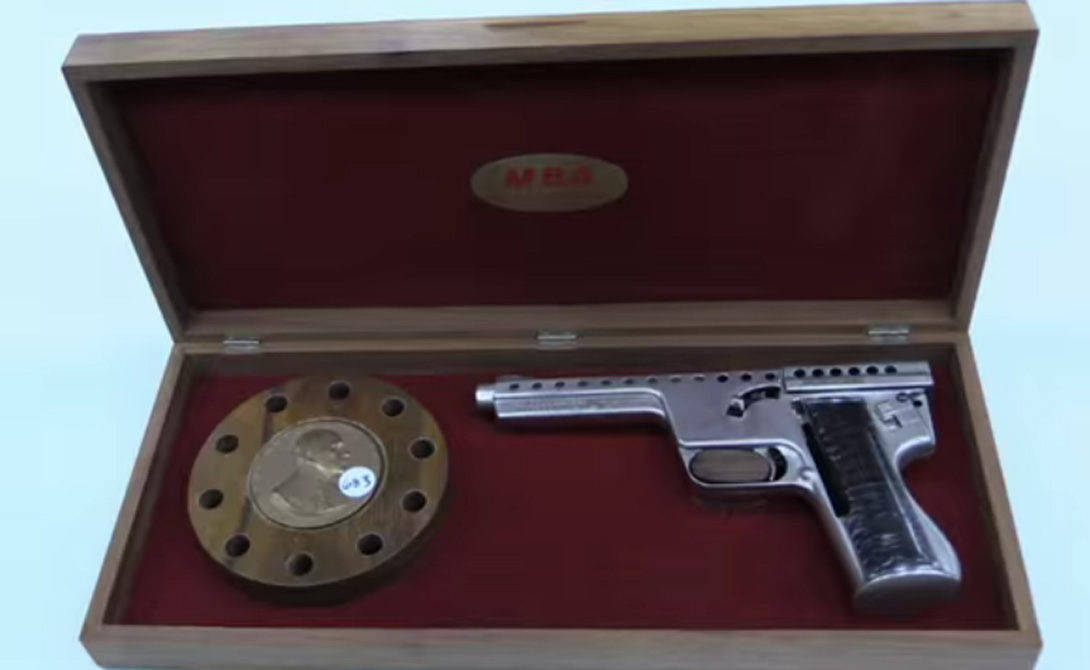 Страна: США Был введен в эксплуатацию: 1965 Тип: пистолет Дальность поражения: 300 метров Магази