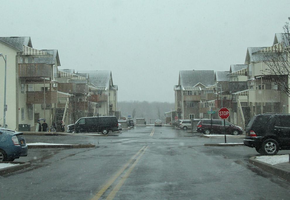 11. Улица одного из беднейших городов Америки. Кирьяс-Джоэль — один из немногих американских городов