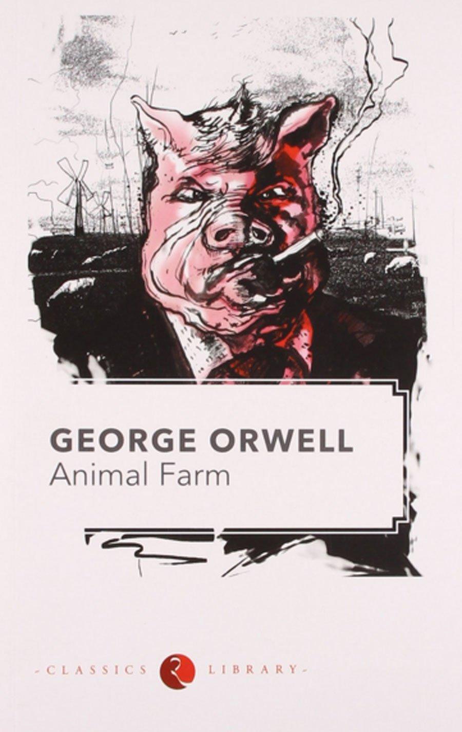 «Скотный двор» – ещё одна книга Джорджа Оруэлла, ставшая блестящей политической сатирой на тему прог