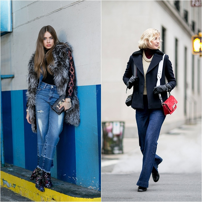 How to Wear Jeans with a Coat: Street Style picture 6