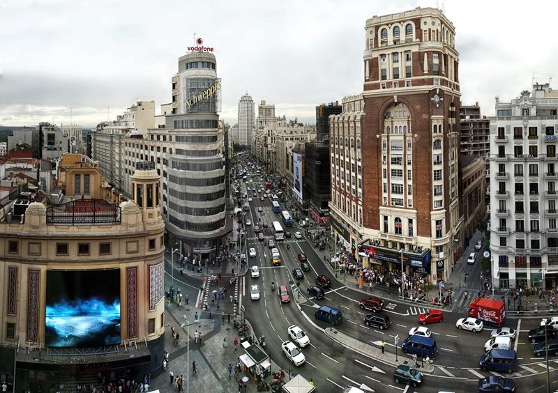 Улицы и архитектура Мадрида фото 3