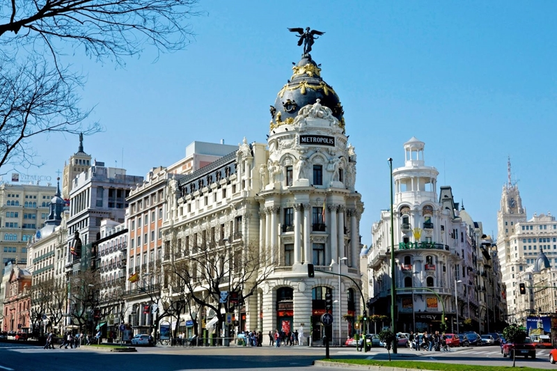 Улицы и архитектура Мадрида фото 10