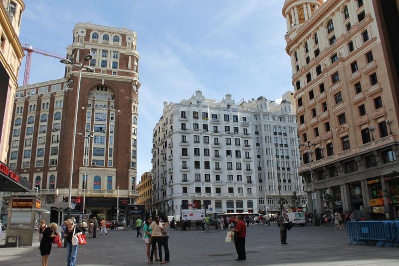 Улицы и архитектура Мадрида фото 12