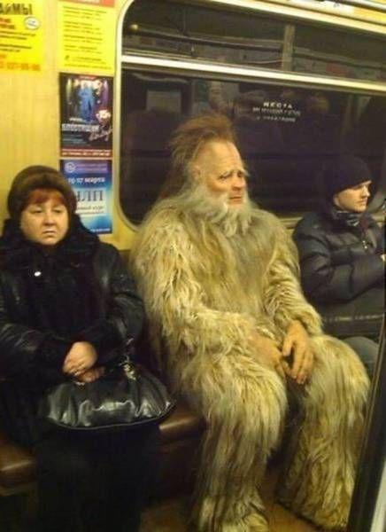 утро в метро