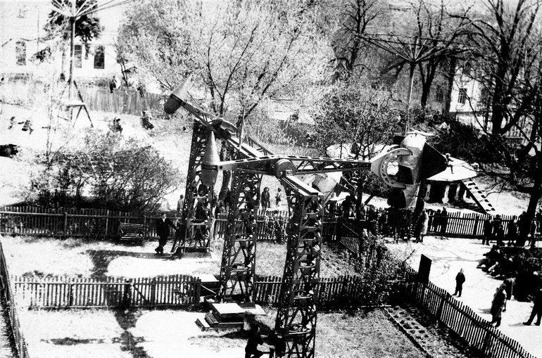 тарые самолетные аттракционы в Житомире
