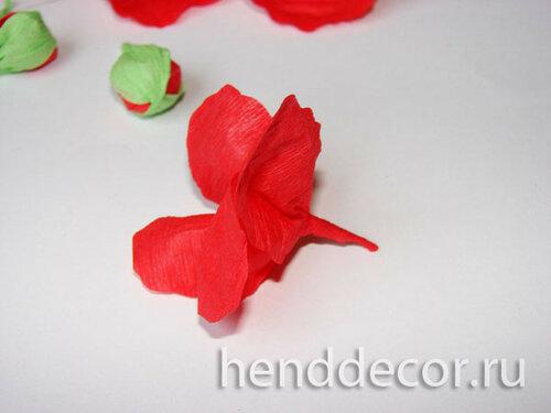 Бумажные цветы - Гладиолус