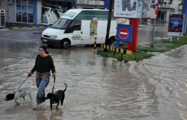 Сербия, наводнение