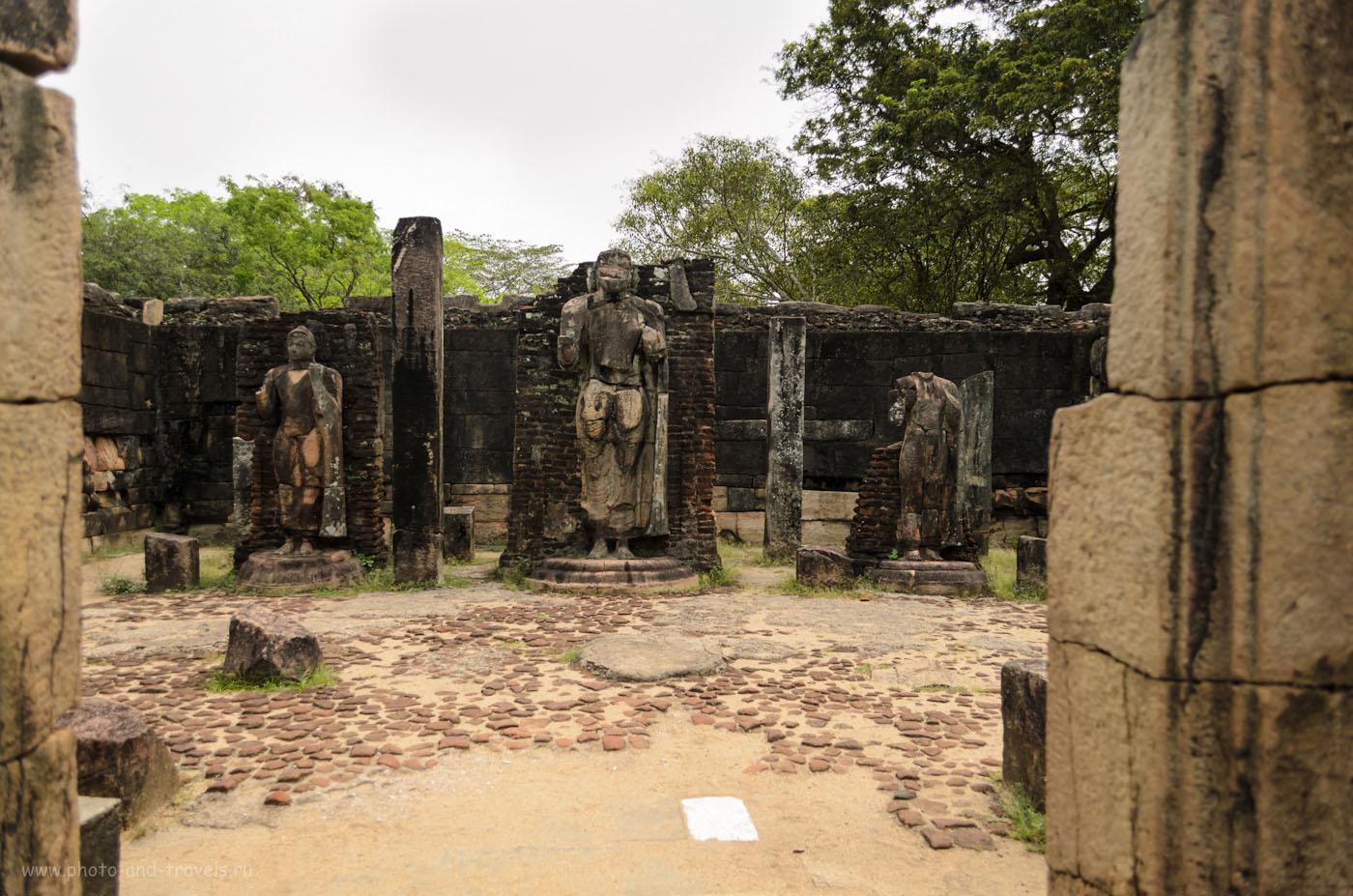 Фотография 6. Hatadage - один их храмов зуба Будды в древнем городе Полоннарува. Самостоятельный тур по Шри-Ланке на арендованной машине.