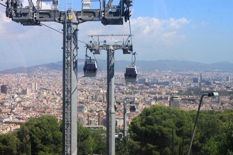 На холме Монжуик, Барселона (On the hill of Montjuic, Barcelona)