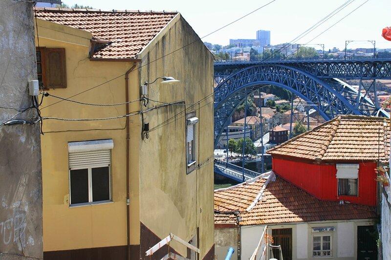 Порту, мост Луиша (Porto, Bridge Luis)