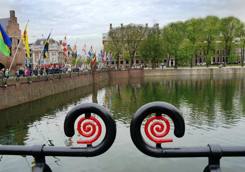 Озеро Хофвижвер в Гааге