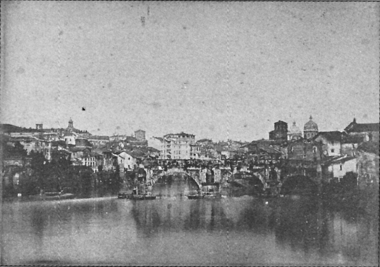 Понте Ротто (сломанный мост) в Риме