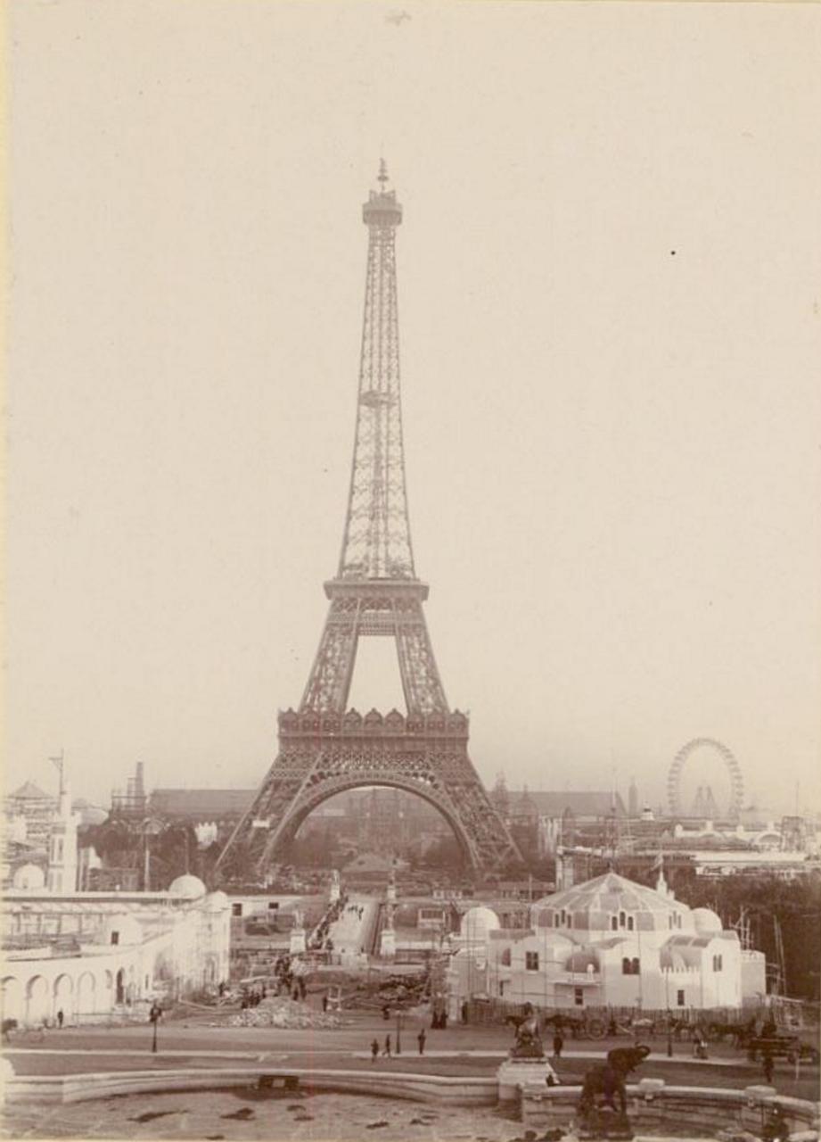 Строительство зданий к Всемирной выставке